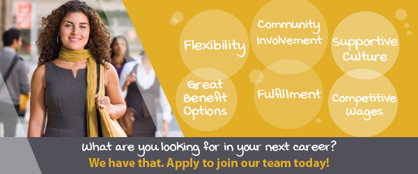 Apply to join our UnitedOne Team today!