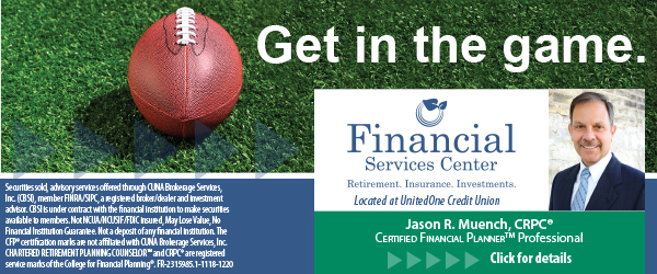 Get in the game with our Financial Services Center! Click Here!