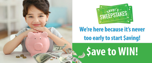 Want to get rewarded for saving? Click here!