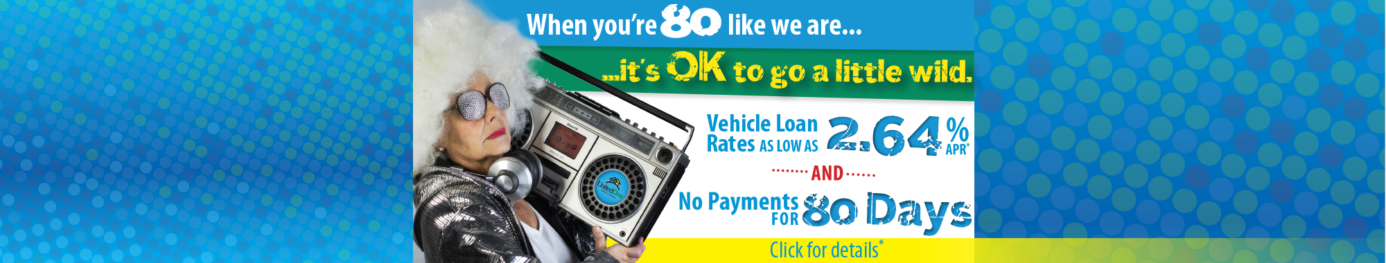 UnitedOne Wild Thing Vehicle Loan Sale - Click here!