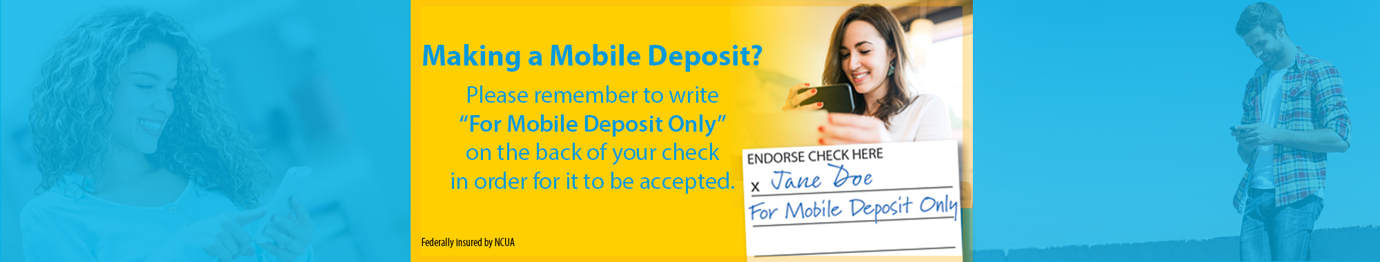 Making a Mobile Deposit?