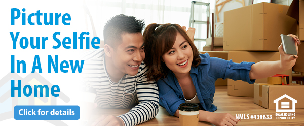 Picture Your Selfie In A New Home! Click for details.