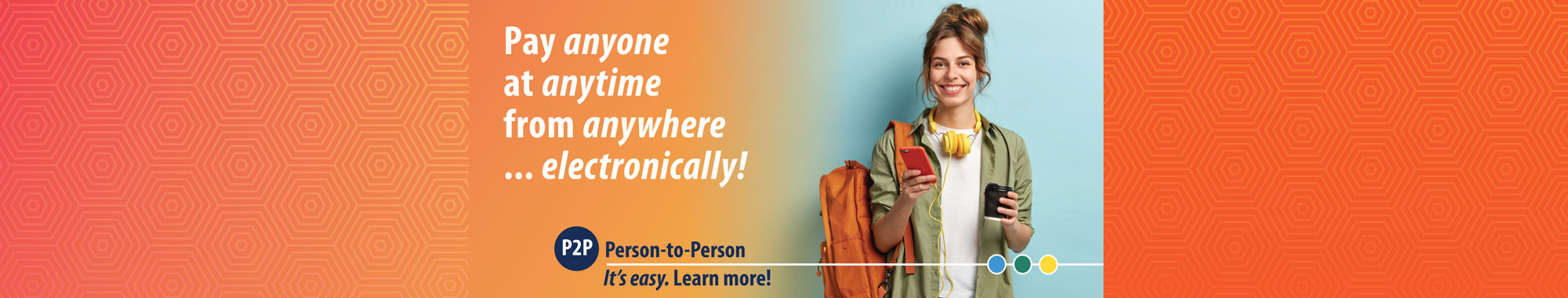 P2P Person-to-Person. Learn more!