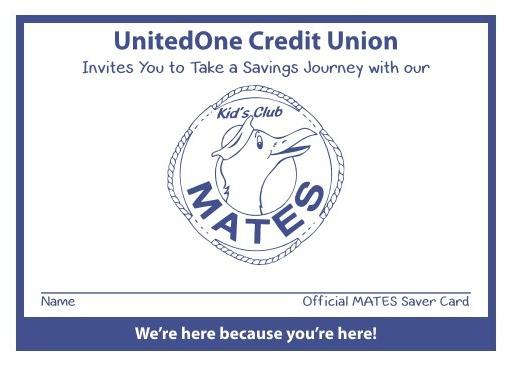 mates club logo for unitedone savings account