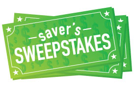 Saver's Sweepstakes logo